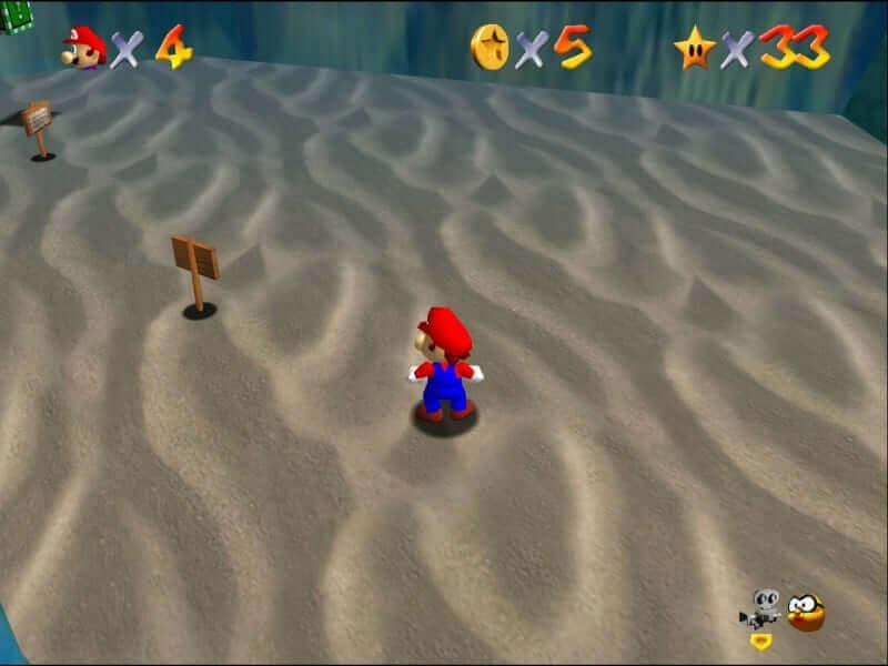 Kamran's Super Mario 64 Retexture