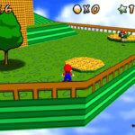 RiSio's Retro Super Mario 64 retexture Screenshot 1