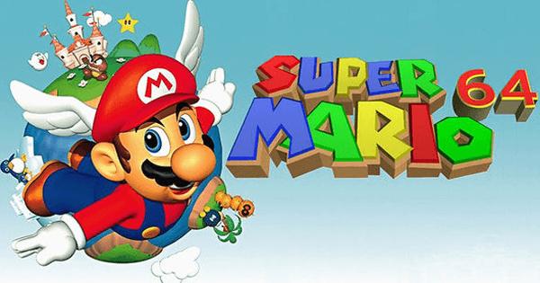 Super Mario 64 Thumbnail
