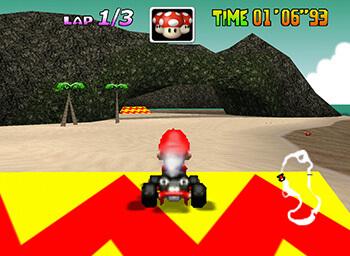 Kerber2k's Mario Kart 64 Texture Pack