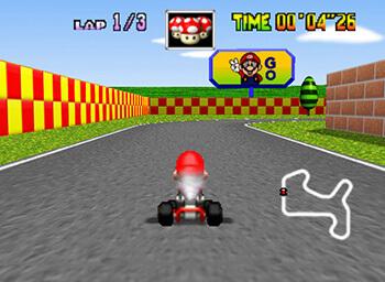 Leonardo20's Mario Kart 64 Texture Pack