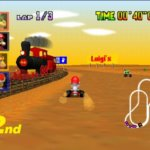 Mario Kart 64 Screenshot 2