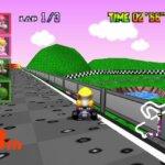 RiSiO Raceway Mario Kart 64 Texture Pack Screenshot 2