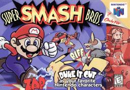 Super Smash Bros Thumbnail
