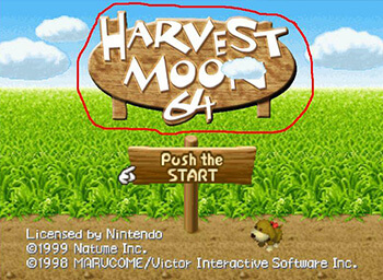 Coffeeandtv's Harvest Moon 64 Texture Pack