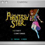 CrabEmu Screenshot 1