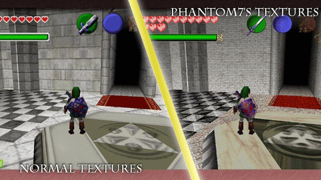 Phantom7's Ocarina of Time Texture Pack Thumbnail