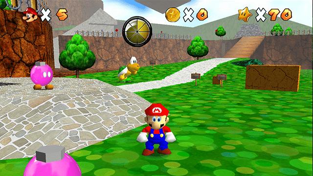 MU-TH-UR's Super Mario 64 Texture Pack Thumbnail